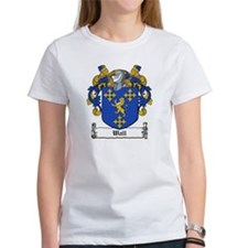 Wall Family Crest Tee