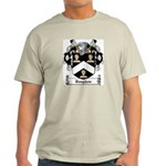 Vaughan Family Crest Ash Grey T-Shirt