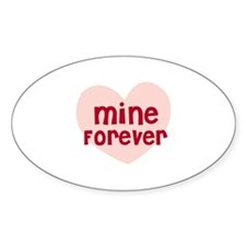 Mine Forever Oval Decal