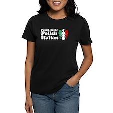 Proud To be Polish Italian Tee