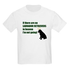 Labrador Retrievers In Heaven Kids T-Shirt