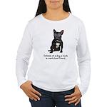 Best Friend French Bulldog Women's Long Sleeve T-S