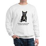 Best Friend French Bulldog Sweatshirt