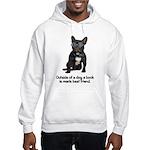 Best Friend French Bulldog Hooded Sweatshirt