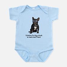 Best Friend French Bulldog Infant Bodysuit