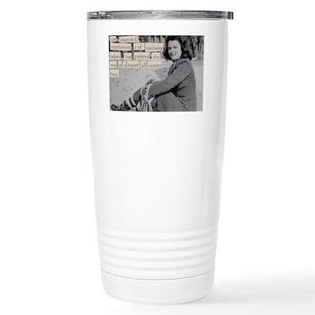 Freezing cold winters Travel Mug