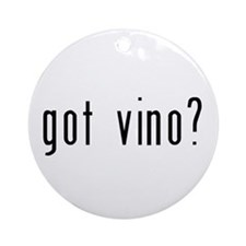 got vino? Ornament (Round)