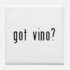 got vino? Tile Coaster