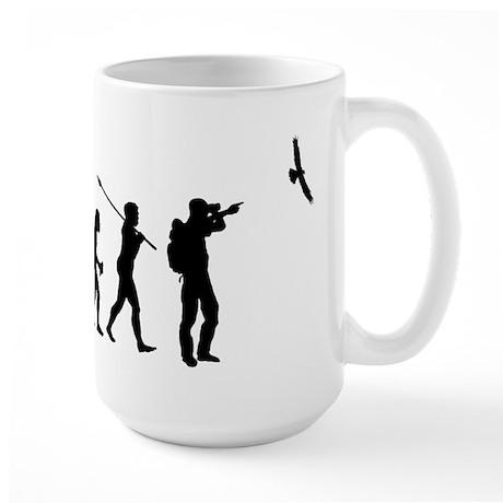 Bird Watcher Large Mug