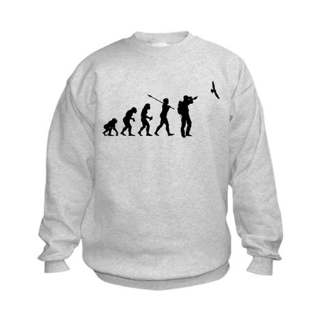 Bird Watcher Kids Sweatshirt