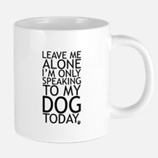 Leave Me Alone, Im Only Spe 20 oz Ceramic Mega Mug