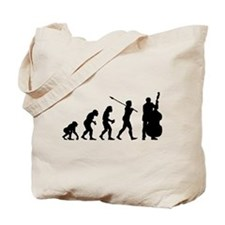 Double Bassist Player Tote Bag