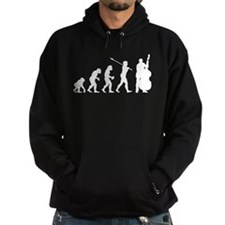 Double Bassist Player Hoody