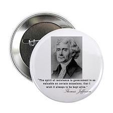 Jefferson Spirit of Resistance Button
