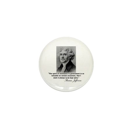 Jefferson Spirit of Resistance Mini Button (10 pac