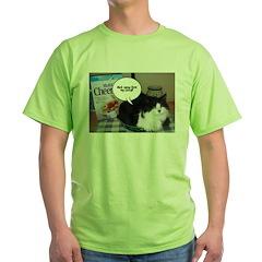 Black & White Cat Humor T-Shirt