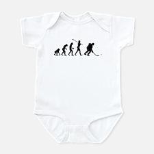 Ice Hockey Player Infant Bodysuit