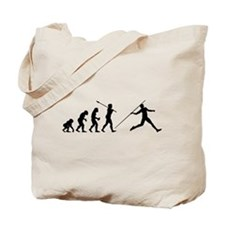 Javelin Thrower Tote Bag
