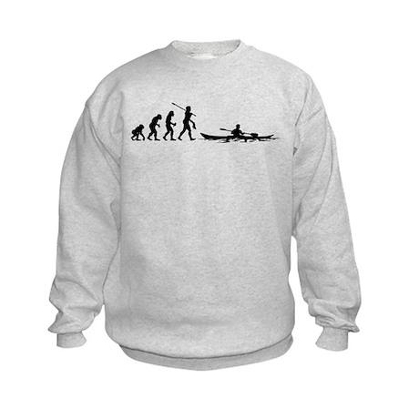Kayaker Kids Sweatshirt