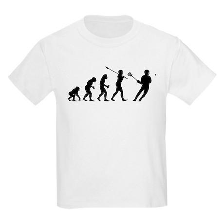 Lacrosse Player Kids Light T-Shirt