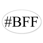 # BFF Sticker (Oval 50 pk)