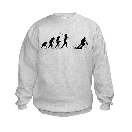 Skier Kids Sweatshirt