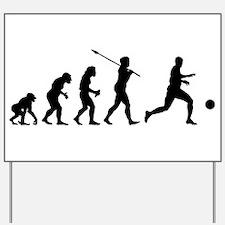Soccer Player Yard Sign