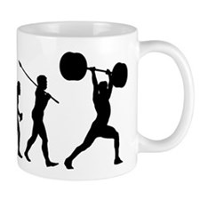 Weightlifter Small Mug