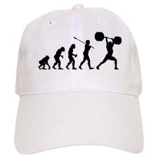 Weightlifter Baseball Baseball Cap