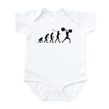 Weightlifter Infant Bodysuit