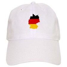 German Flag (shape) Baseball Cap
