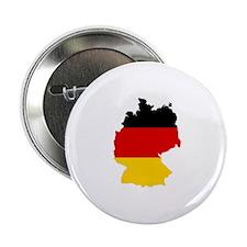 "German Flag (shape) 2.25"" Button"