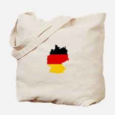 German Flag (shape) Tote Bag