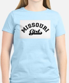 Missouri Girl Women's Pink T-Shirt