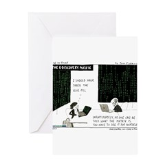 The e-Discovery Matrix Greeting Card