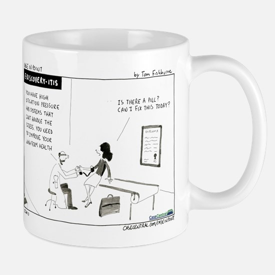 e-Discovery-itis Mug