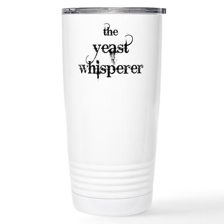 Yeast Whisperer Stainless Steel Travel Mug