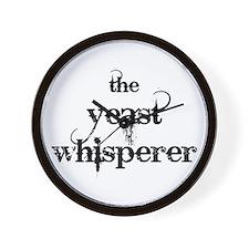 Yeast Whisperer Wall Clock