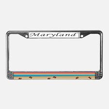MD License Plate Frame