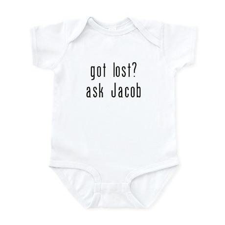 got lost? ask jacob Infant Bodysuit