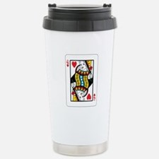 Queen of hearts Stainless Steel Travel Mug