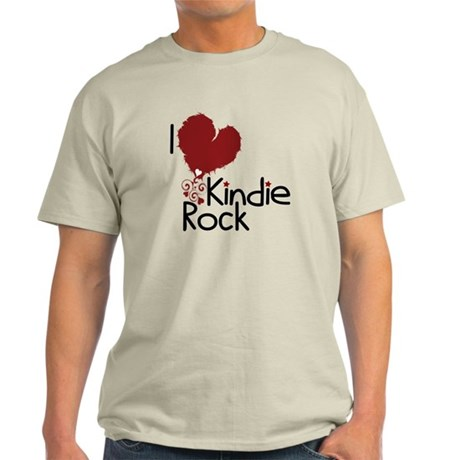 I Love Kindie Rock Light T-Shirt