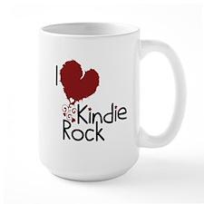I Love Kindie Rock Mug