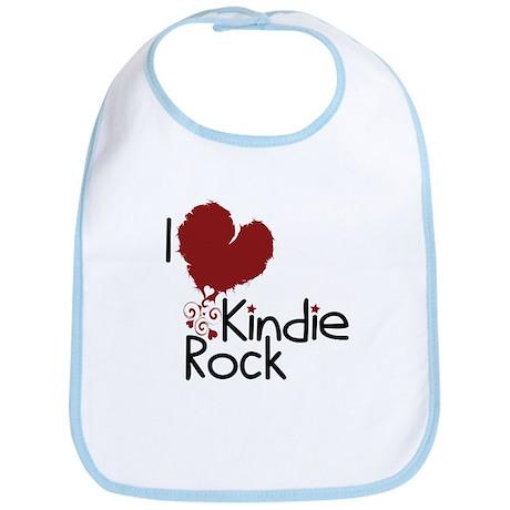 I Love Kindie Rock Bib