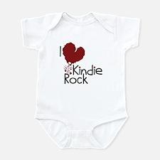 I Love Kindie Rock Infant Bodysuit