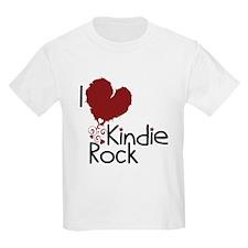 I Love Kindie Rock T-Shirt