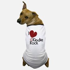 I Love Kindie Rock Dog T-Shirt