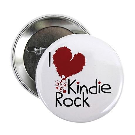 "I Love Kindie Rock 2.25"" Button"