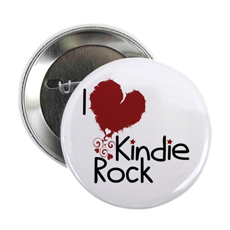 "I Love Kindie Rock 2.25"" Button (100 pack)"
