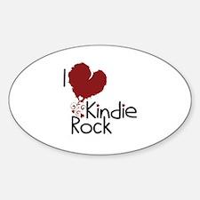 I Love Kindie Rock Decal